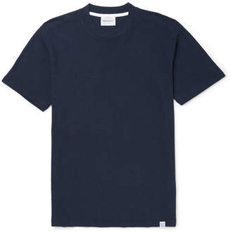 Norse Projects James Cotton and Linen-Blend T-Shirt