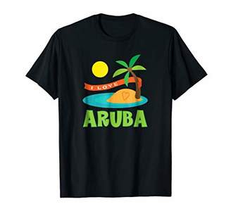 Aruba Shirt Tropical Island Travel T-shirt