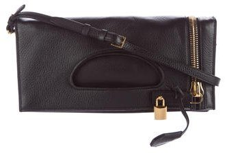 Tom Ford Tom Ford Alix Fold-Over Crossbody Bag