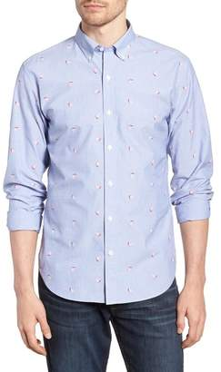 Bonobos Slim Fit Print Sport Shirt
