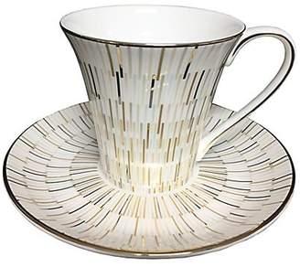 Prouna Luminous Bone China Tea Cup & Saucer