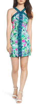 Lilly Pulitzer R) Vena Stretch Sheath Dress