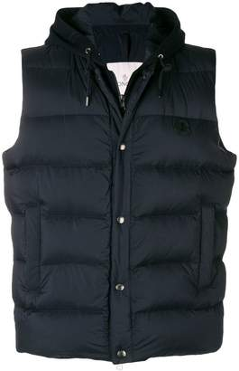 Moncler hooded down gilet