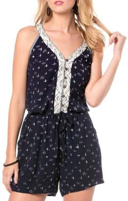 Miss Me Blue Belle Romper