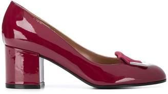 Pollini chunky heel pumps