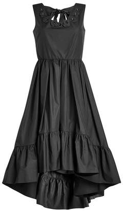 Fendi Embroidered Cotton Dress