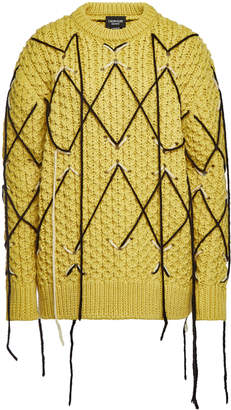 Calvin Klein Knit Wool Pullover with Mohair