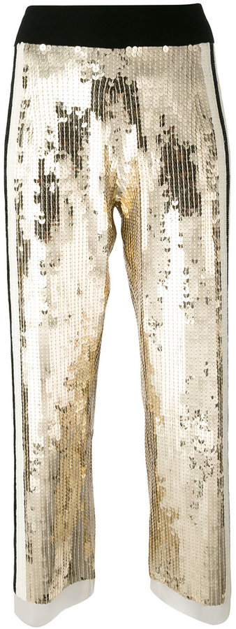 Aviu Aviù sequins detail cropped pants