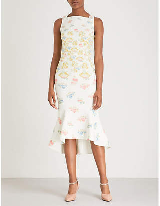 Peter Pilotto Kia floral-print crepe dress
