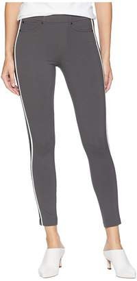 Liverpool Chloe Ankle Leggings Double Stripe in Super Stretch Ponte Knit Women's Casual Pants