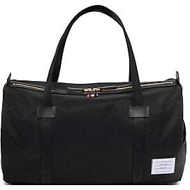 Thom Browne Men's Leather Duffel Bag