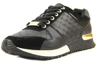 Bebe Sport Racer Women Synthetic Silver Fashion Sneakers.