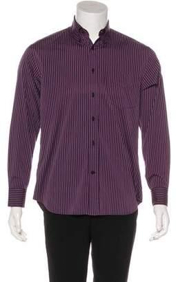 Canali Striped Casual Shirt