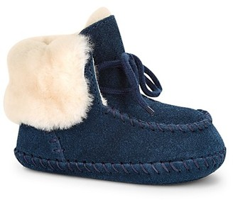 UGG® Girls' Sparrow Moccasin Booties - Baby $60 thestylecure.com