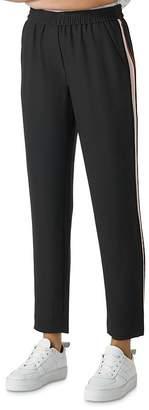 Whistles Elyse Side-Stripe Pants