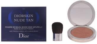 Christian Dior skin Nude Tan Glow Sun Powder with Kabuki Brush, No. 005 -0.35-Ounce