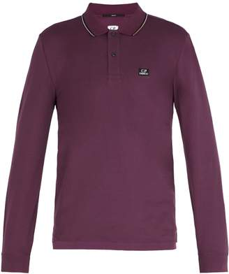 C.P. Company Long-sleeved cotton polo shirt