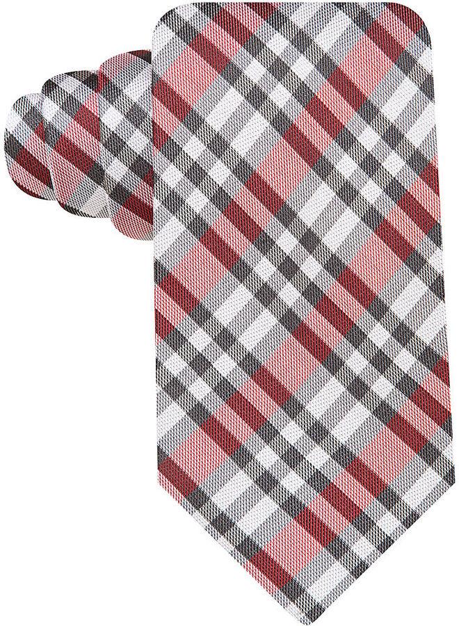 Geoffrey Beene Noel Plaid Tie