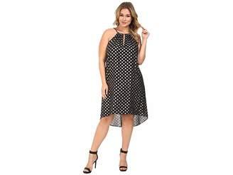 MICHAEL Michael Kors Size Bergalia Foil Dress Women's Dress