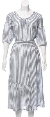 Apiece Apart One-Shoulder Maxi Dress