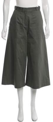 Vilshenko High-Rise Cropped Pants