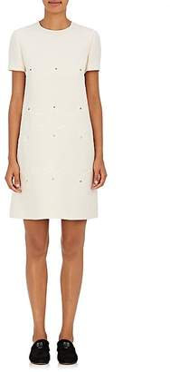 Valentino Women's Studded Wool-Silk Dress