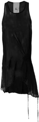 Lost & Found Rooms sheer draped tank top