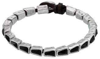 Uno de 50 Snake Ice Swarovski Crystal Accented Bracelet
