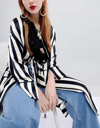 Claudia Canova velvet fanny pack with extendable strap