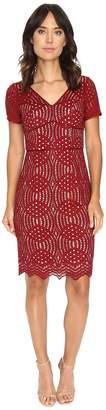 NUE by Shani Geometric Lace Dress Women's Dress