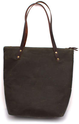 General Knot & Co Waxed Canvas Portfolio Tote
