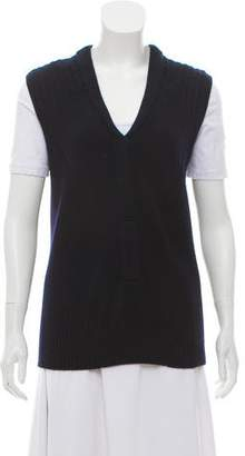 Reed Krakoff Wool Sleeveless Sweater Vest