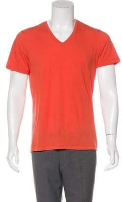 Theory V-Neck Knit T-Shirt