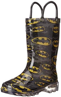 Western Chief Boys Waterproof Rain Boots That Light up With Each Step