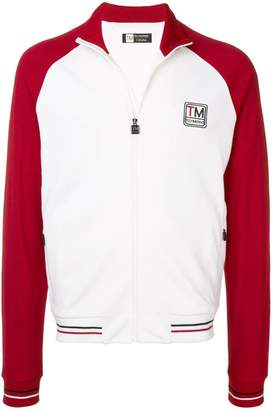 Ermenegildo Zegna contrasting sleeves jacket
