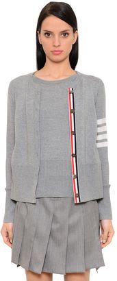 Intarsia Stripes Merino Wool Sweater Set $1,300 thestylecure.com