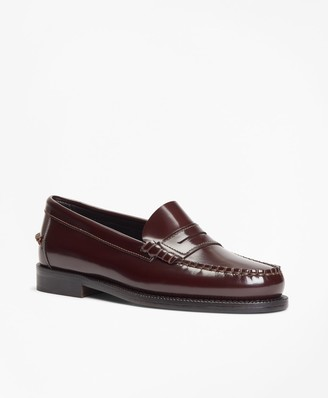 Brooks Brothers Leather Penny Loafers