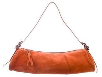 Tod's Suede Shoulder Bag