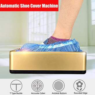 Generic Automatic Shoe Cover Dispenser Machine Home Office Carpet Cleaning Overshoes + Bag