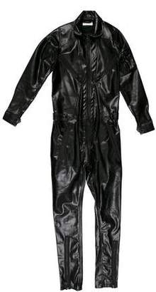 Patrik Ervell Pleather Long Sleeve Flightsuit