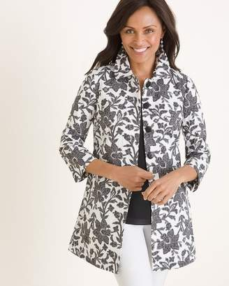 Chico's Chicos Pleat-Back Jacket
