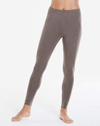 Naturally Close Thermal Grey Sparkle Leggings