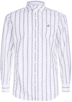 Vivienne Westwood Floral Stripe Shirt