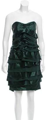 La Perla Silk Strapless Dress $700 thestylecure.com