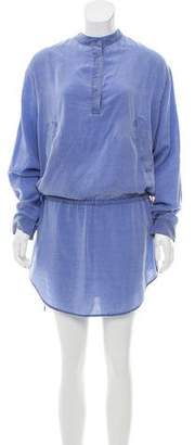 MM6 MAISON MARGIELA Long-Sleeve Knee-Length Dress