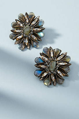 Deepa Gurnani Aryssa Flower Post Earrings