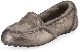 UGG Hailey Metallic Fur-Lined Indoor/Outdoor Slippers