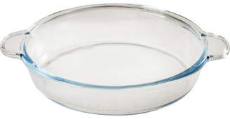 Circle Glass Borcam Round 2.8qt. Roaster with Handles