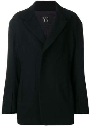 Y's blazer-like relaxed jacket