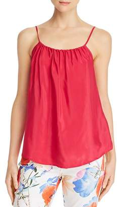 7 For All Mankind Shirred Camisole Top